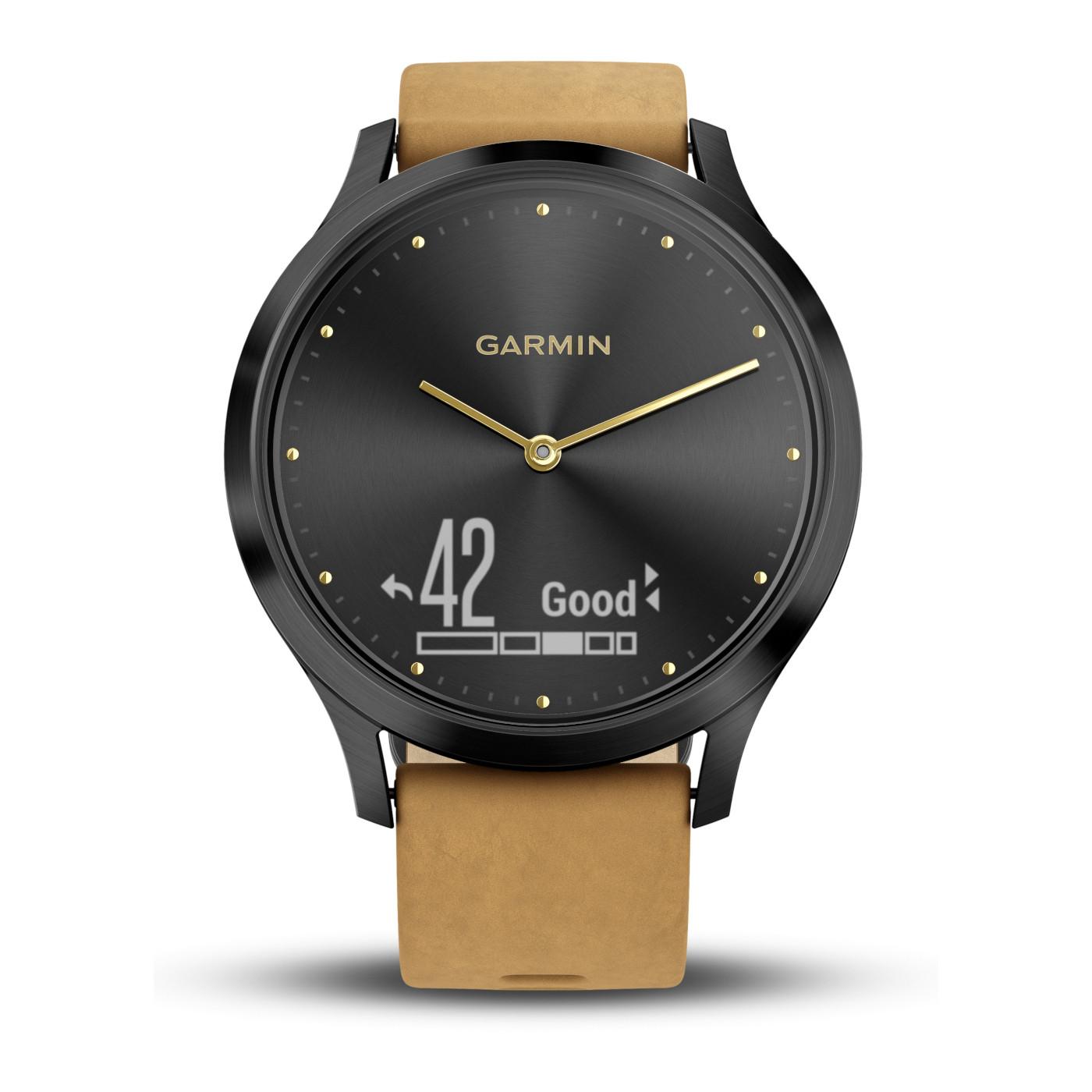 Garmin Vivomove HR Premium Hybrid Smartwatch 010-01850-00 (43 mm)