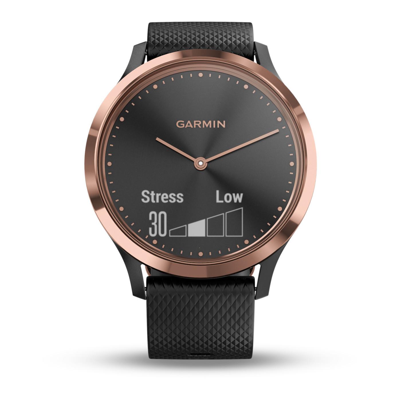 Garmin Vivomove HR Sport Hybrid Smartwatch 010-01850-06 (43 mm)