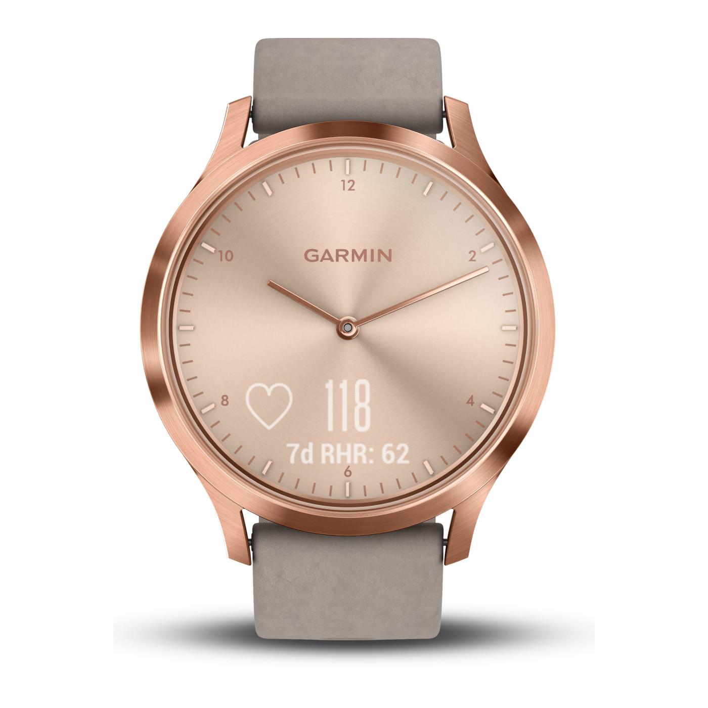 Garmin Vivomove HR Premium Hybrid Smartwatch 010-01850-09 (43 mm)