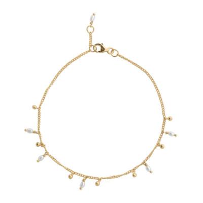 ANNA + NINA 14 Karaat Gouden Essentials Cosmic Dust Armband 18-2M907008G (Lengte: 18.00 cm)