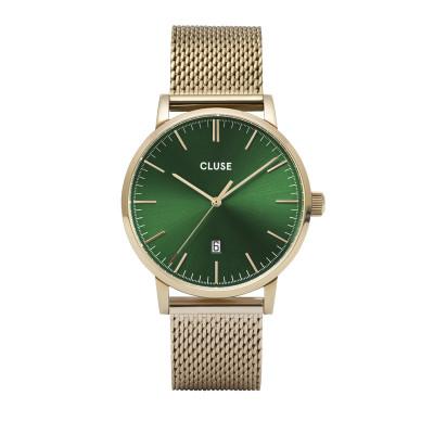 CLUSE Aravis Goudkleurig horloge CW0101501006