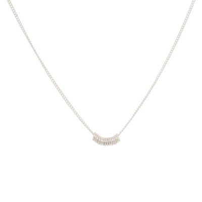 ANNA + NINA 925 Sterling Zilveren Essentials Multi Ketting 011628S0000 (Lengte: 42.00 cm)