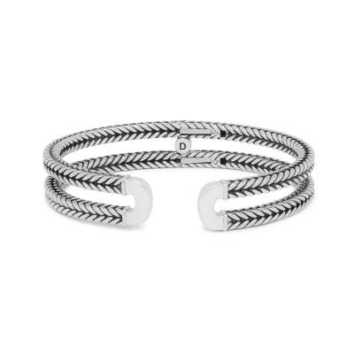 Buddha to Buddha 925 Sterling Zilveren Heritage Barbara Link Armband 115 (Lengte: 17.00-21.00 cm)