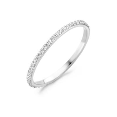 Blush 14 Karaat Witgouden Ring 1201WZI