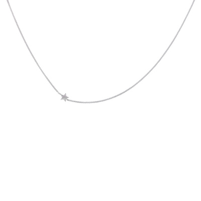 ANNA + NINA 925 Sterling Zilveren Essentials Stellar Short Ketting 18-2M903006S (Lengte: 42.00 cm)