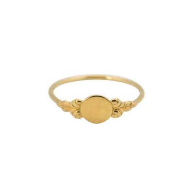 ANNA + NINA 14 Karaat Gouden Solid Gold Coquette Ring 18-2M90808G