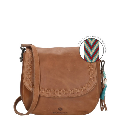 Micmacbags Friendship Brown Schoudertas 18663006
