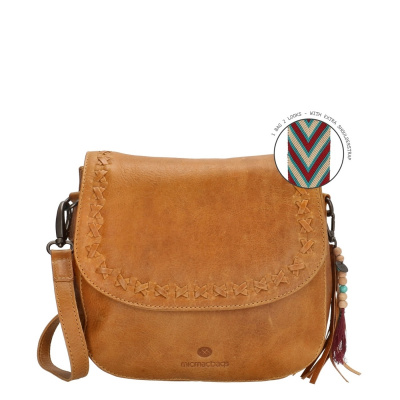 Micmacbags Friendship Camel Schoudertas 18663010