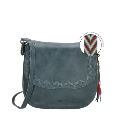 Micmacbags Friendship Denim Blue Schoudertas 18663030