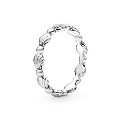 Pandora Stories 925 Sterling Zilveren Shell Ring 198943C00