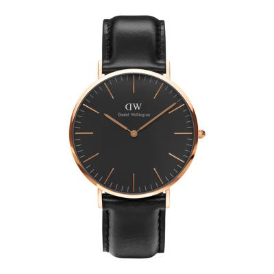 Daniel Wellington Classic Black Sheffield horloge (40 MM) DW00100127