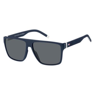 Tommy Hilfiger Blue Whit Zonnebril TH-1717S-0JU-59-IR