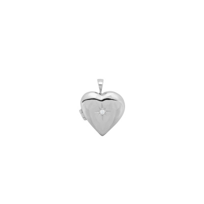 ANNA + NINA 925 Sterling Zilveren Heart of Gold Ketting Bedel 21-1M904013S