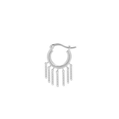 ANNA + NINA 925 Sterling Zilveren Single Multi Chain Ring Oorbellen 21-2M902007S