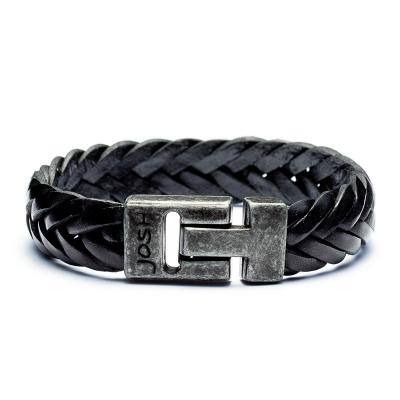 e16886e3713 Toevoegen aan verlanglijst new; Josh Vintage Black Armband 24001-BRA-VB-BLACK  (Lengte: 20-