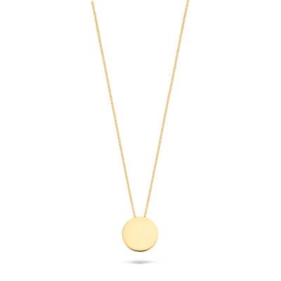 Blush 14 Karaat Gouden Ketting3080YGO (Lengte: 42.00 cm)