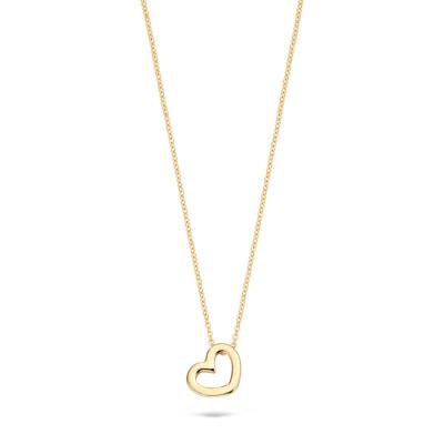 Blush 14 Karaat Gouden Ketting3081YGO (Lengte: 42.00 cm)