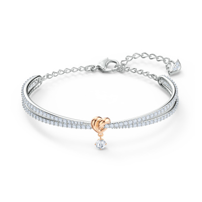 Swarovski Lifelong Bangle 5516544 (Lengte: 14.00-18.50 cm)