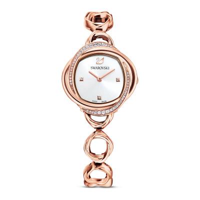 Swarovski Crystal flower horloge