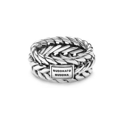 Buddha to Buddha 925 Sterling Zilveren Nurul Ring 610