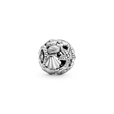 Pandora Moments 925 Sterling Zilveren Shell and Starfish Bedel 798950C00