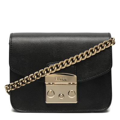 Furla Metropolis Mini Nero Crossbody WB00217ARE000O6000