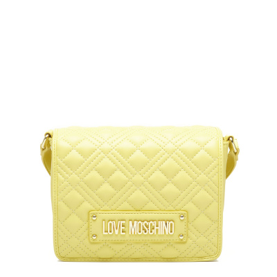 Love Moschino Quilted Nappa Giallo Crossbody JC4002PP1CLA0400