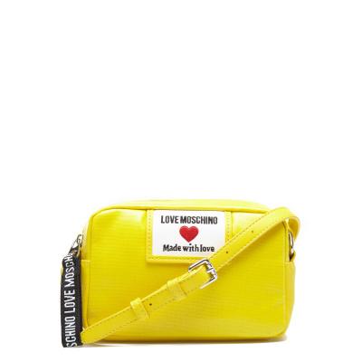 Love Moschino Canvas Giallo Crossbody JC4033PP1CLC140A