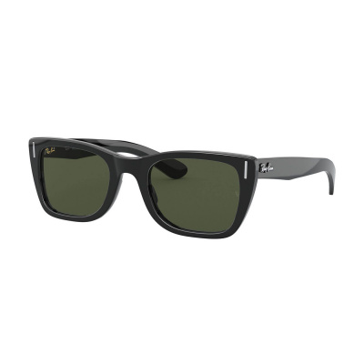 Ray-Ban Icons Shiny Black Zonnebril RB22485290131
