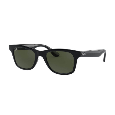 Ray-Ban Highstreet Shiny Black Zonnebril RB46405060131