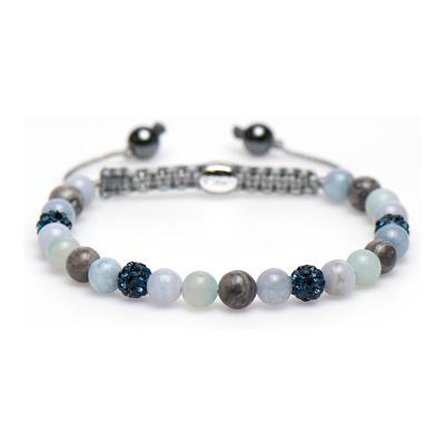 Karma Spiral Bluebell Armband 83190 (Lengte 17.50-19.00 cm)