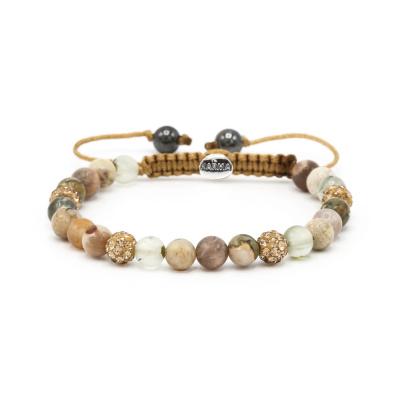 Karma Spiral Glaze Armband 83454 (Lengte: 17.50-19 cm)