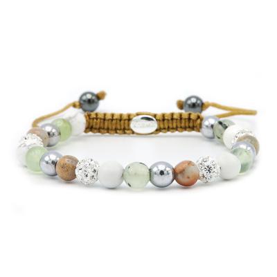 Karma Spiral Center Piece Armband 83728 (Lengte: 17.50 - 19.00 cm)