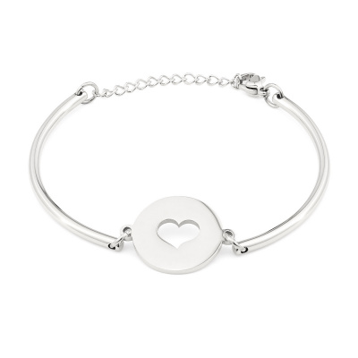 May Sparkle Happiness Pauline Zilverkleurige Armband MS10055