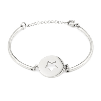 May Sparkle Happiness Linnea Zilverkleurige Armband MS10057
