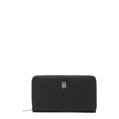 Tommy Hilfiger Black Ritsportemonnee AW0AW10547BDS001