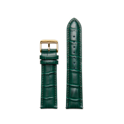 Mats Meier Strap 22mm Croco Groen MM41008
