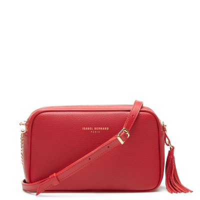 Isabel Bernard Honoré Lucie Red Crossbody IB26004