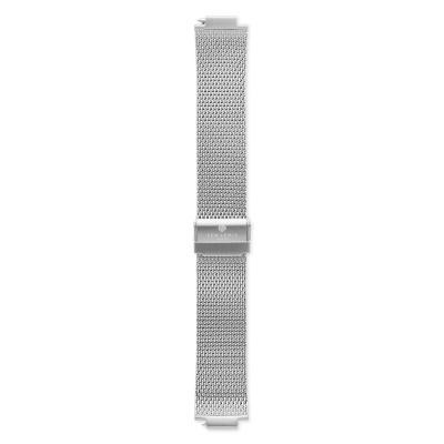 Sem Lewis Moorgate Mesh Strap 24mm Zilverkleurig SL620008