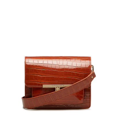 May Sparkle Festive Cognac Croco Crossbody MS22011