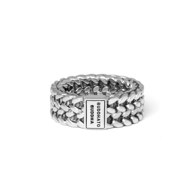 Buddha to Buddha 925 Sterling Zilveren Julius Ring 193