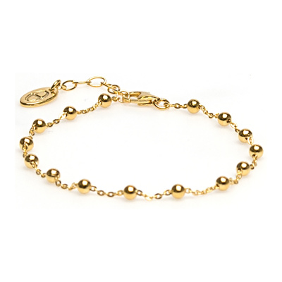 Karma Silver Goldplated Armband 94021 (Lengte: 16.50-19.00 cm)
