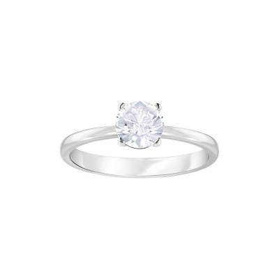 Swarovski Attract Round Cubic Zirkonia White Ring