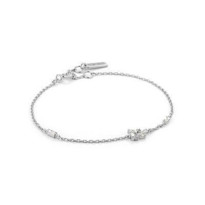Ania Haie 925 Sterling Zilveren Glow Getter Cluster Armband AH-B018-02H (Lengte: 20.00 cm)