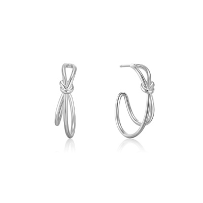 Ania Haie Forget me Knot 925 Sterling Zilveren Oorknoppen AH-E029-02H