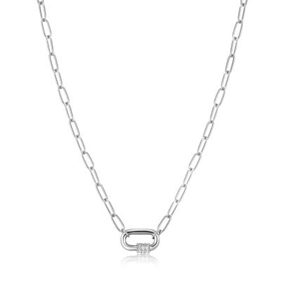 Ania Haie Bright Future 925 Sterling Zilveren Ketting AH-N031-01H-B (Lengte: 45.00 cm)