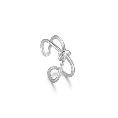 Ania Haie Forget me Knot 925 Sterling Zilveren Ring AH-R029-02H