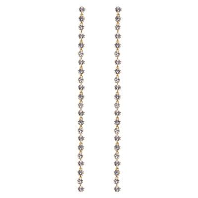 P D Paola 925 Sterling Zilveren Electra Electra Gold Oorbellen AR01-169-U