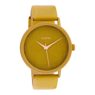 OOZOO Timepieces Geel horloge C10391 (42 mm)