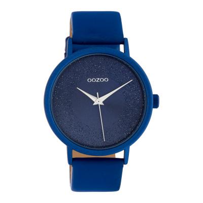 OOZOO Timepieces Blauw horloge C10583